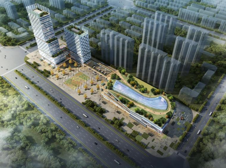 [北京]永清新区商务用地概念设计方案(PDF+67页)