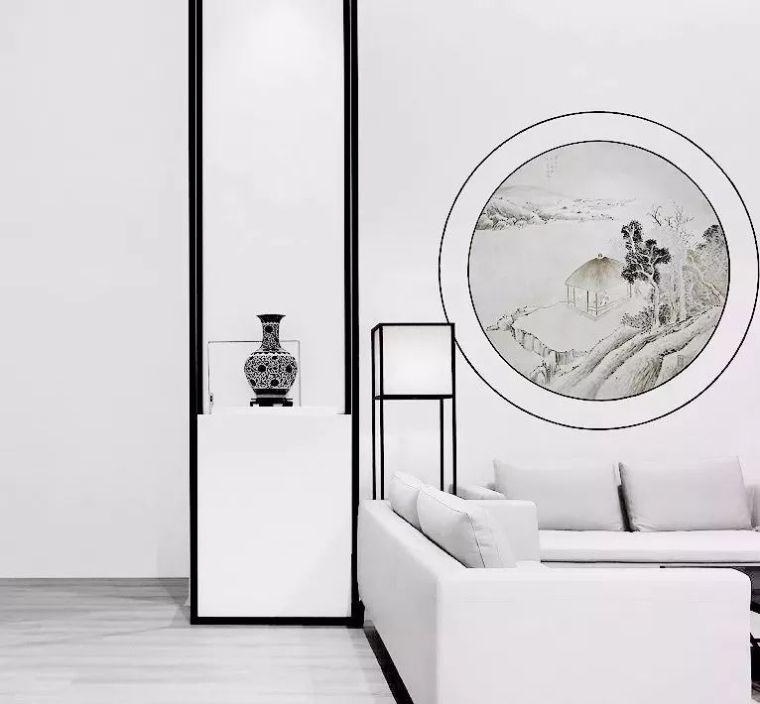 新中式,留白的空灵美!