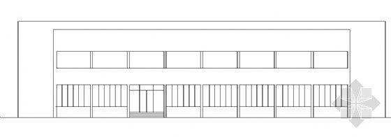 某小型办公室建筑图
