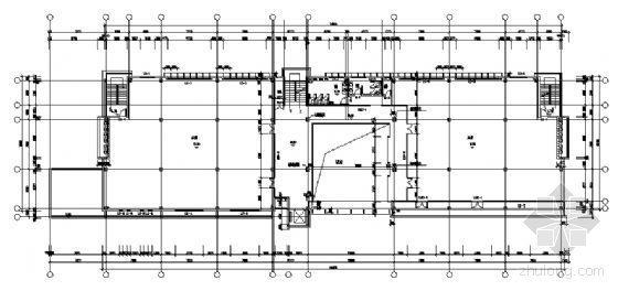 某四层钢结构办公楼建筑施工图-3