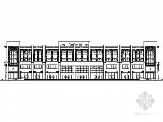 [西藏]拉萨某四层铁路招待所建筑施工图