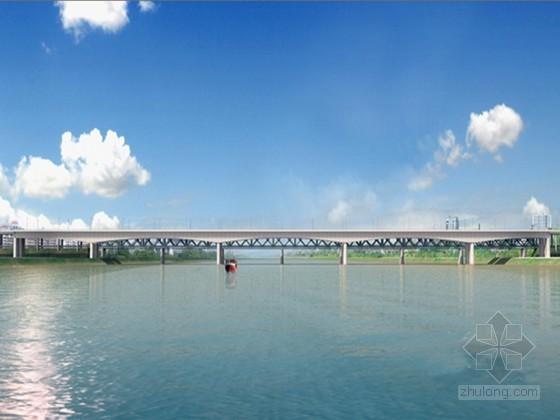 2013年刚构连续箱梁桥总体施工组织设计附CAD(挂篮悬浇 钢套箱围堰)