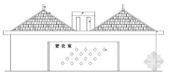 游泳池更衣室设计图