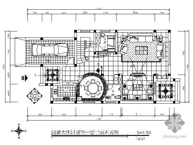 双层别墅平面装修图