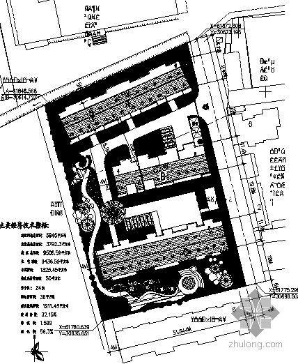 [墟沟]某居住小区六层住宅楼设计方案(三栋)