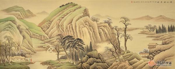 酒店装饰画挂什么多姿多彩的山水画