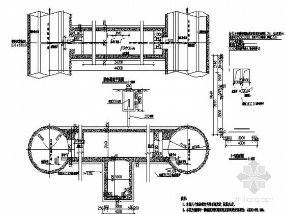 [河南]知名大院设计轨道交通矿山法区间隧道施工图43张(盾构 明挖)