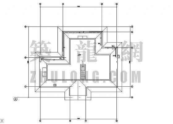 辽宁某小别墅给排水设计图