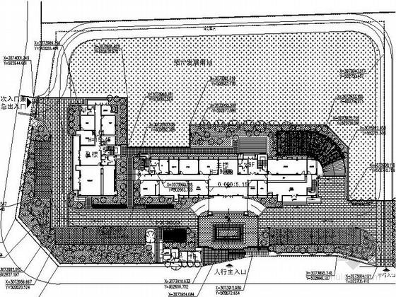 [浙江]精简机关单位业务用房景观设计施工图