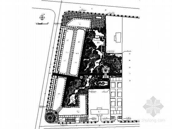 [河北]皇家公园绿地景观方案设计施工图(图纸完整)