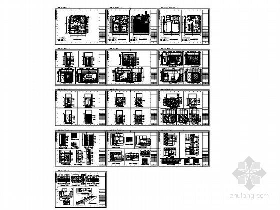 酒店时尚精装套房装修施工总缩略图