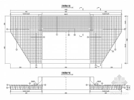 [浙江]城市主干道箱涵工程施工图设计15张