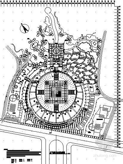 [重庆]广场景观工程设计图