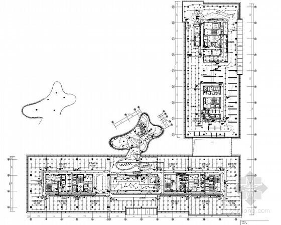 [南京]大型办公综合楼强电系统施工图纸89张