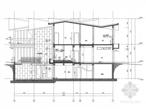 [武汉]二层框架住宅楼结构施工图(含建施)