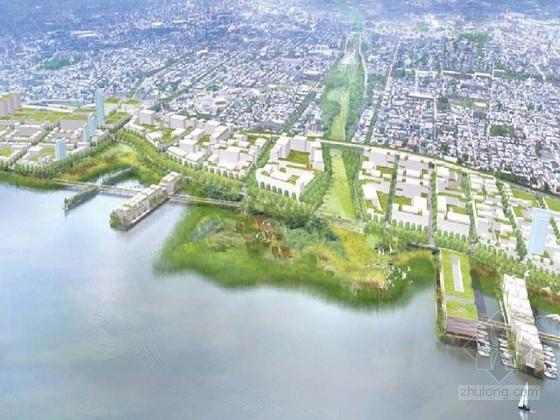 [美国]滨水城市绿化景观规划设计方案(英文方案文本)