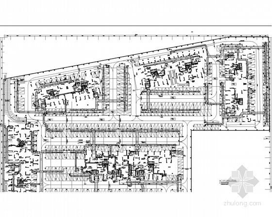 地下车库通风及防排烟系统设计施工图