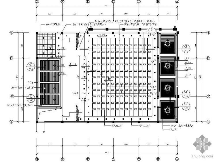 某政府多功能会议室装修平面图_2