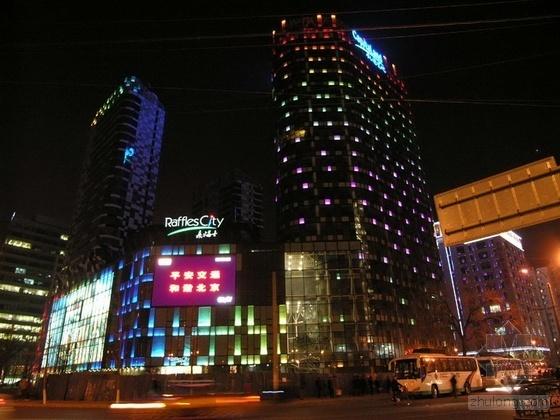 北京来福士广场外立面照明设计