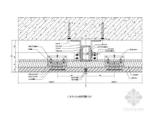 石材幕墙横剖节点详图