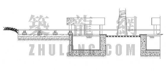 木栈道构造详图