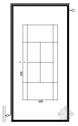 网球场结构图
