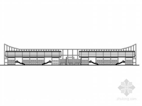 [云南]某中学二层体育馆建筑方案图