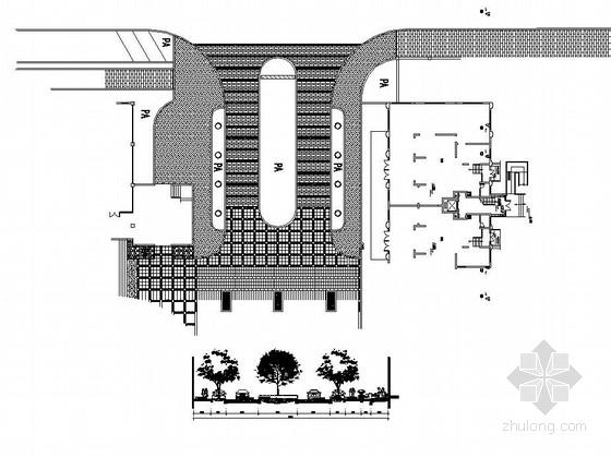 [九江]Art-Deco风格居住区园林景观工程扩初施工图