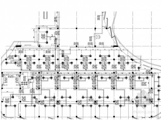 [内蒙古]高大空调体育馆暖通全套系统设计施工图(甲级设计院 空调机房)
