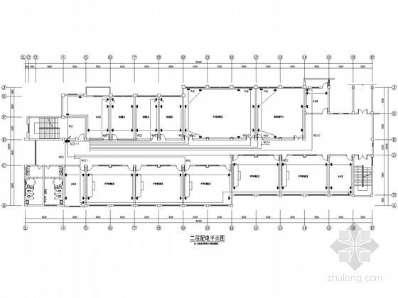 [安徽]教学康复综合楼电气设计施工图纸
