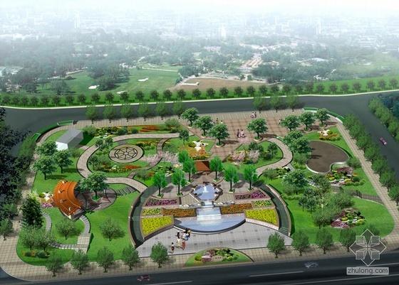 小广场景观设计方案