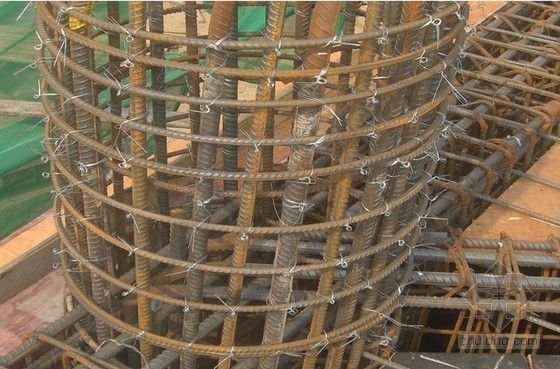 屋面钢管桁架结构支撑柱墩施工技术总结(效果图)