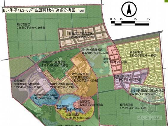 [唐山]某现代农业产业园规划设计(清华学生设计)