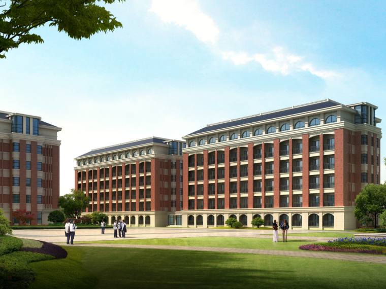 五层框架结构宿舍楼工程施工图预算(含图纸,预算书)