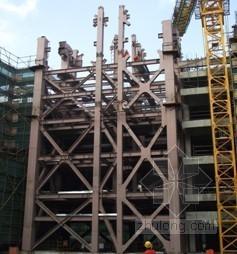 大跨度连廊钢桁架液压整体提升施工技术