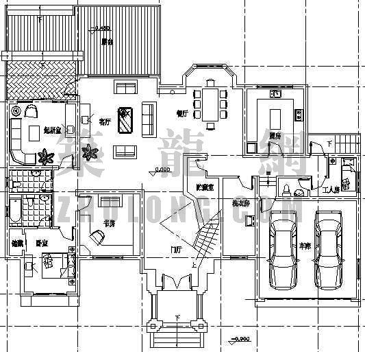 某精致别墅设计方案(1)-4