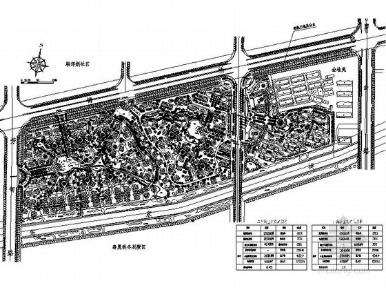 [上海]某别墅区规划总图