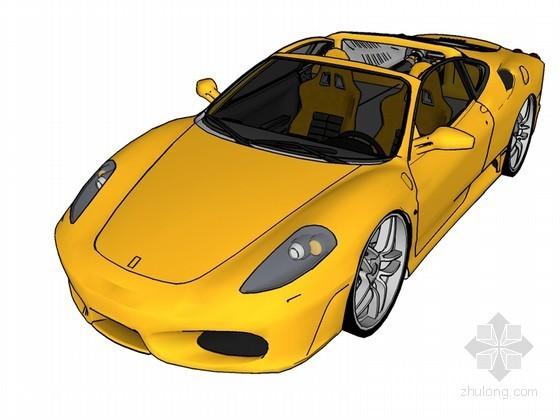 高端轿车SketchUp模型下载