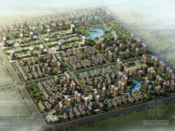 [天津]城市综合体规划及单体设计方案文本(含CAD)