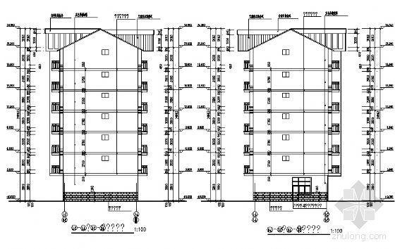宜宾某小区3、4号住宅楼建筑结构施工图-2