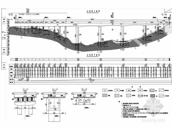 [重庆]82m箱形高墩主跨66+3x120+66三向预应力连续刚钩桥施工图115张(含结构计算书)
