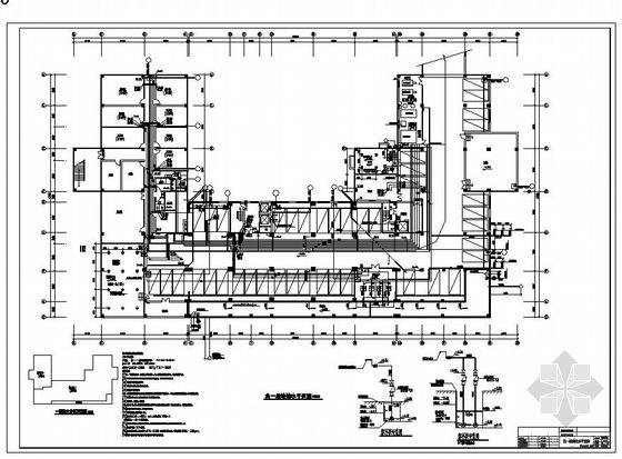 某十五层酒店给排水设计图