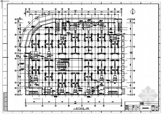 上海某超市空调设计图