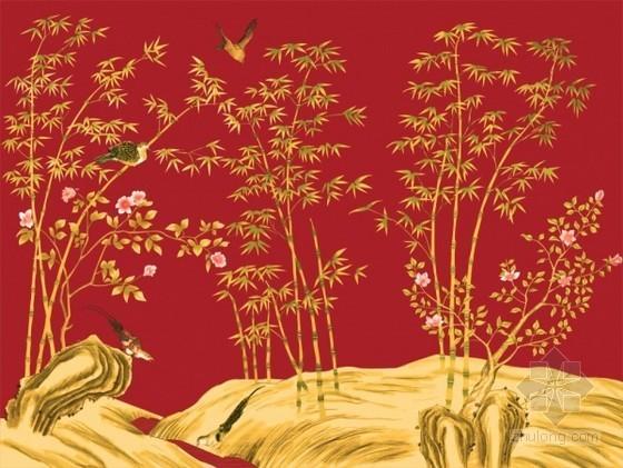 植物花鸟图壁纸3d贴图下载