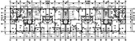 洛阳市某高层综合楼采暖分户计量图