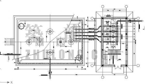 给水泵房及水池工艺设备管道安装详图