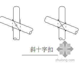 天津某经适房项目高压线防护措施
