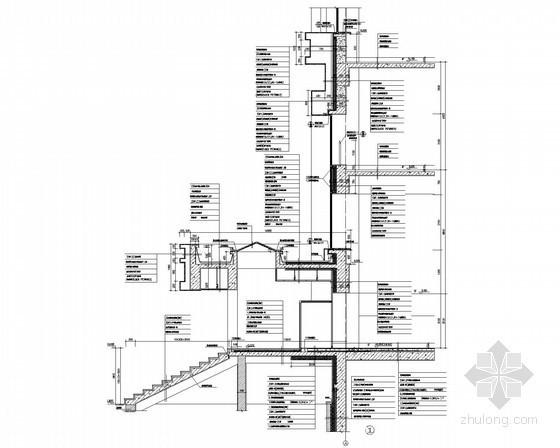 某两层商业办公楼节点大样图
