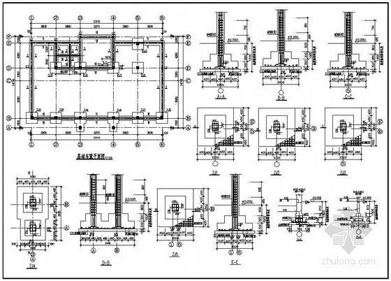 某二层砖混办公楼结构施工图