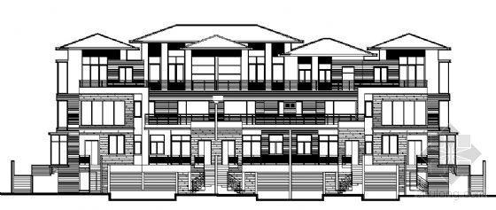 丹堤A区16、17、25号楼建筑施工图